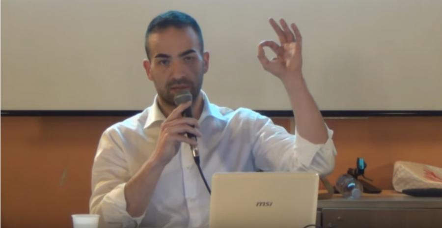 A cena con il biologo nutrizionista e vegan coach Giorgio Fabbro