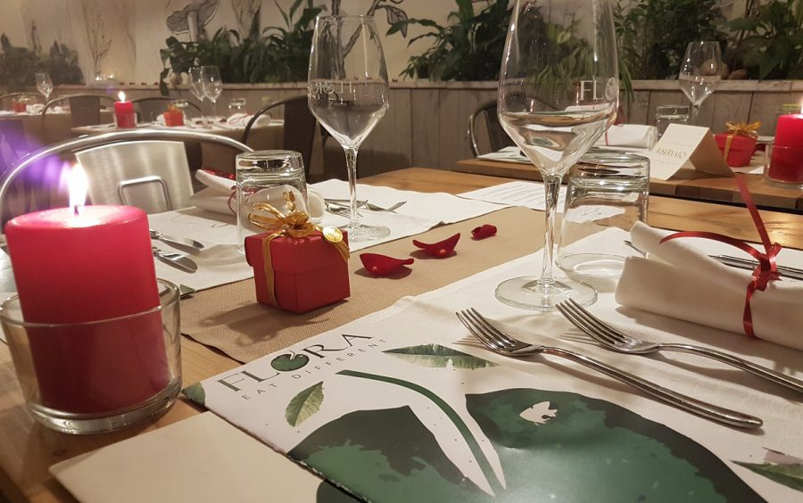 Cena di San Valentino al Flora di Verona